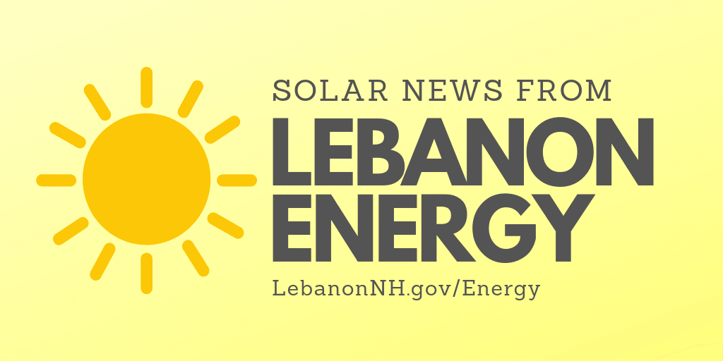 Solar News from Lebanon Energy
