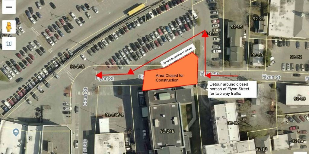 Flynn Street Traffic Detour