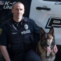 Officer Tracy  K9 Briggs