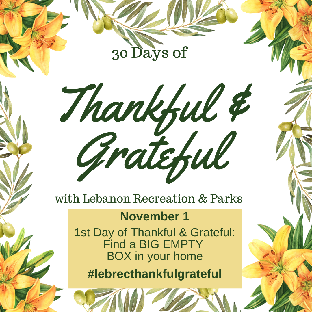 30 Days of Thankful and Grateful