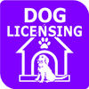 Pay online Dog License Logo Opens in new window