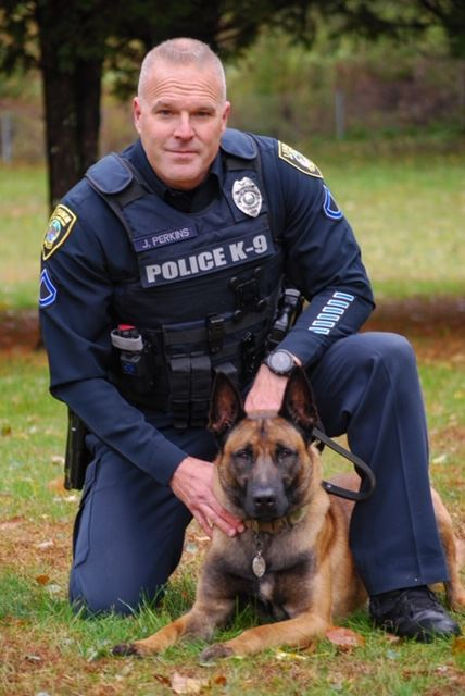 Officer Perkins and K9 Blesk